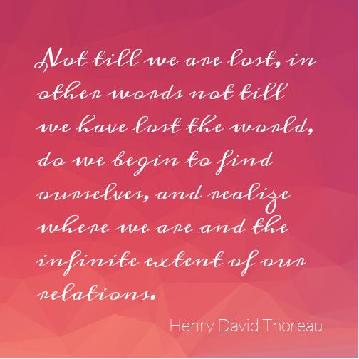 Motivational monday by H. D. Thoreau
