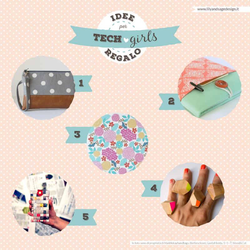 Idee regalo per Tech Girls - Lily&Sage Design