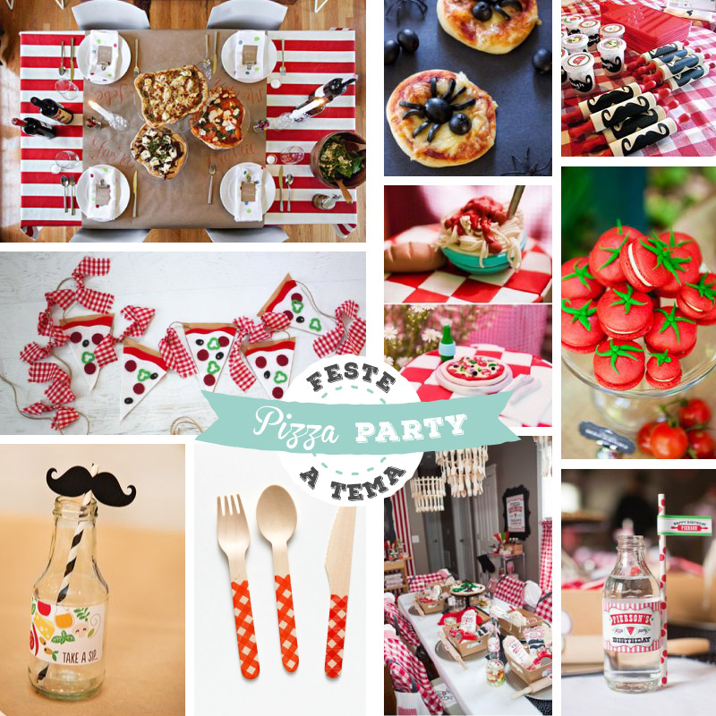 Festa di compleanno a tema-Pizza Party-Lily&Sage Design