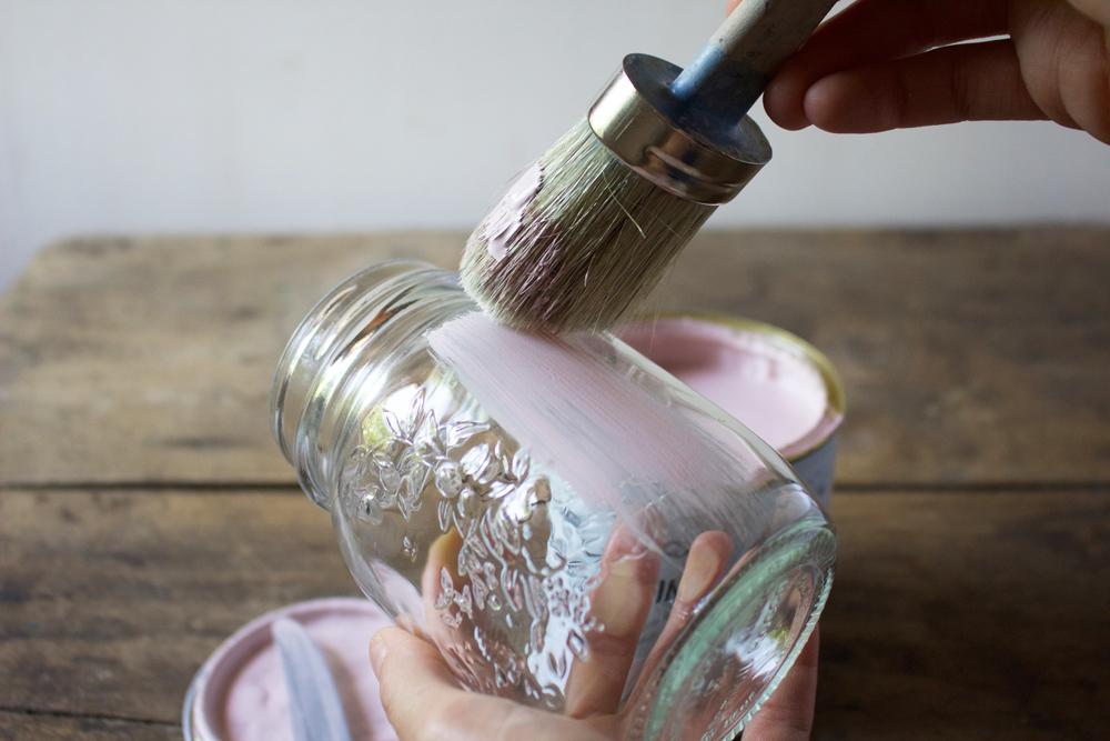 Tutorial: Barattoli di vetro decorati per una festa in ...