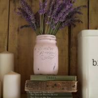 Tutorial barattoli decorati in stile Shabby Chic – Home Decor