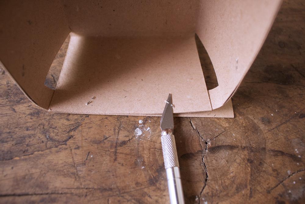 Cestino di carta per la frutta - eliminare primo punto del bordo - Tutorial Lily&Sage Design