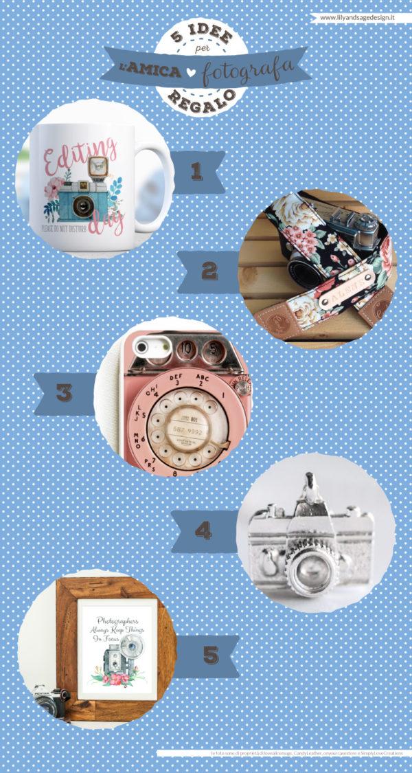 Idee regalo per l'amica fotografa - Lily&Sage Design