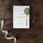 Wedding suite botanica - Allium - Lily&Sage Design