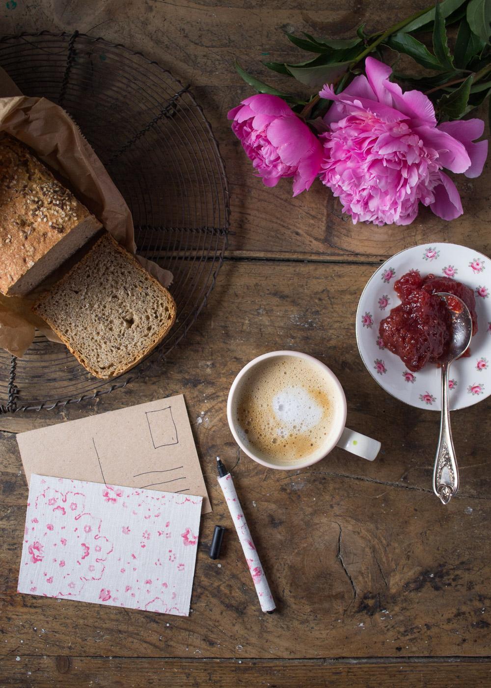 Colazione di primavera con le peonie - Lily&Sage Design