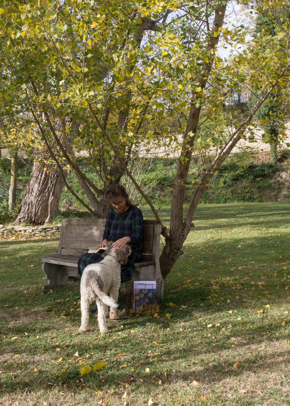 La bellezza dell'autunno - Leggere in giardino