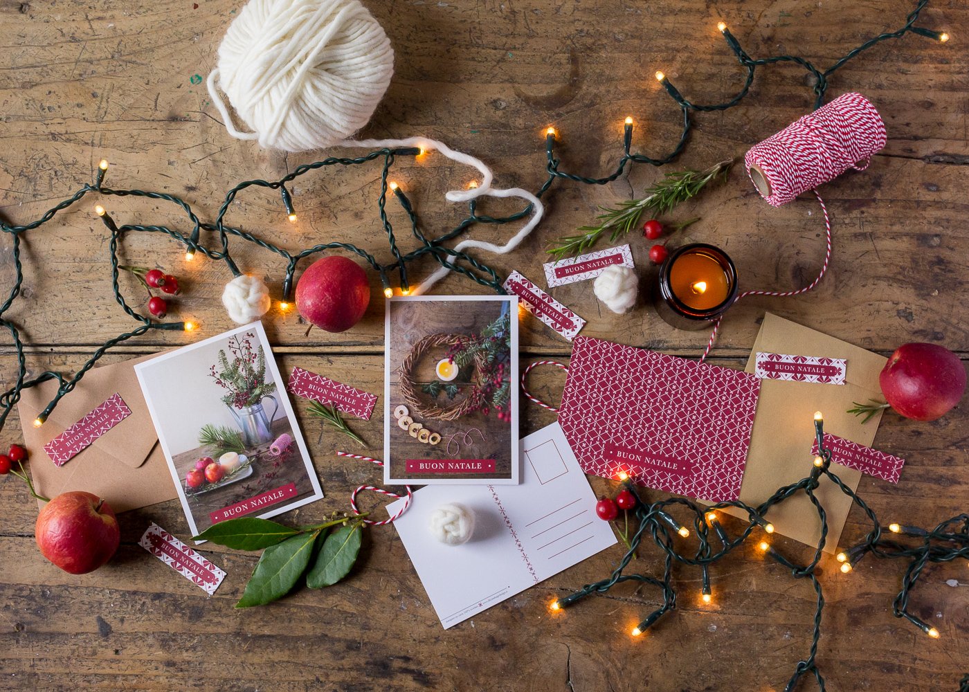 Il mio negozio di Natale - Biglietti d'auguri di Natale - Natura - Lily&Sage Design