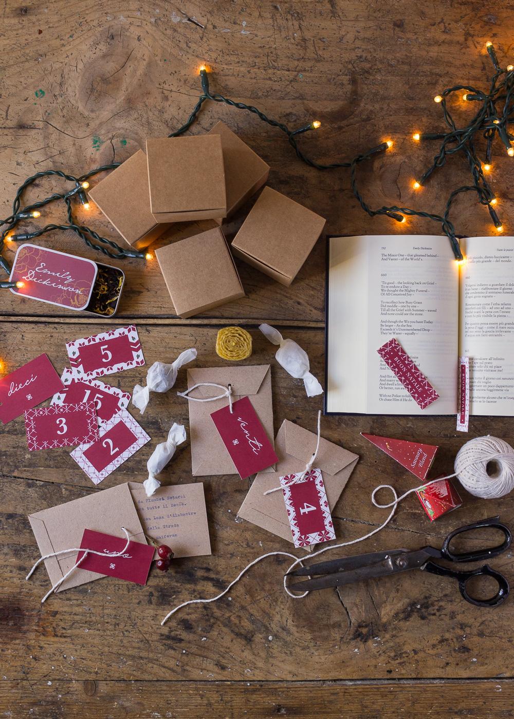 Calendario dell'Avvento - Un Natale di tradizioni - Lily&SageDesign