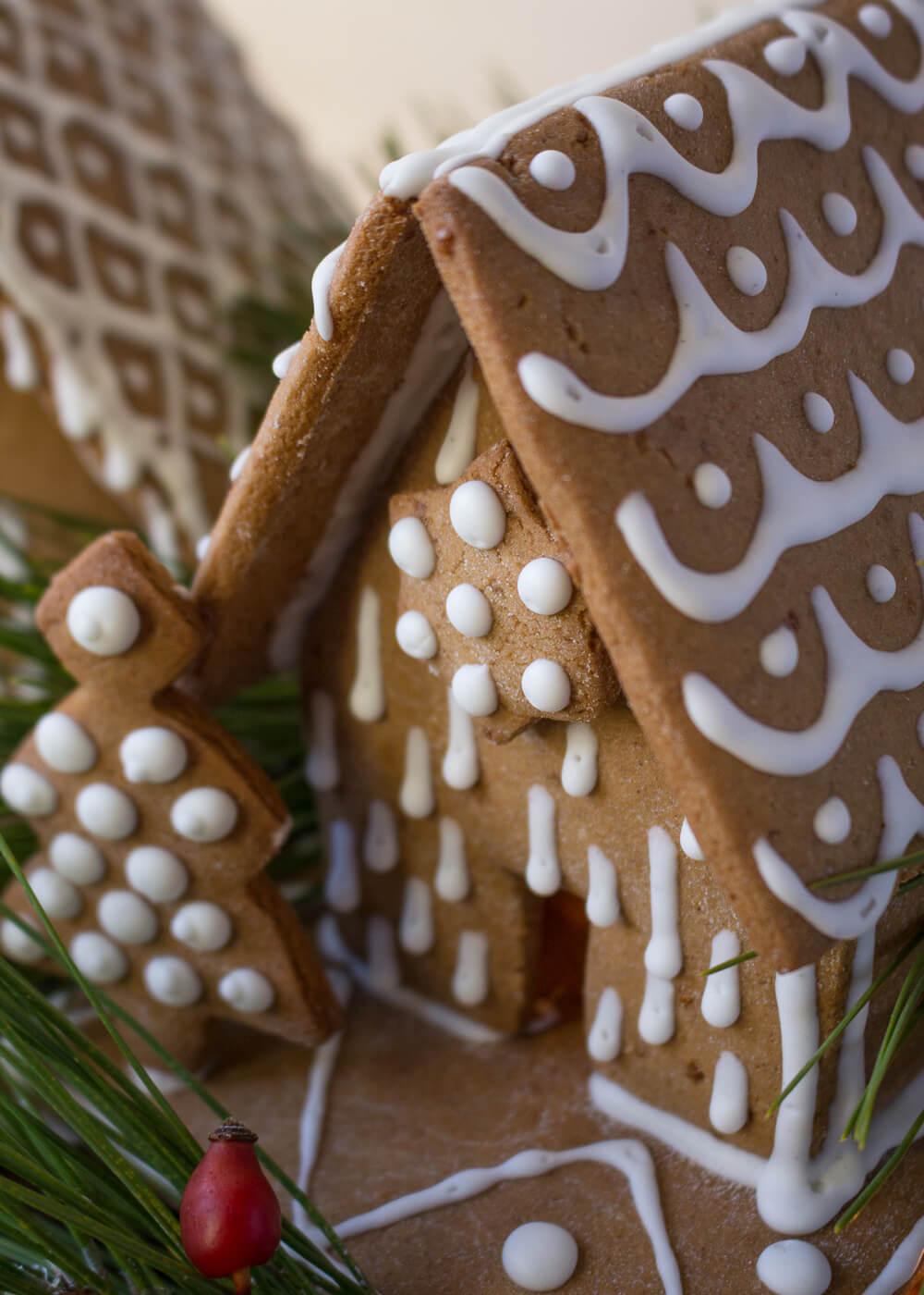 Calendario dell'Avvento - Gingerbread house - Un Natale di tradizioni - Lily&SageDesign