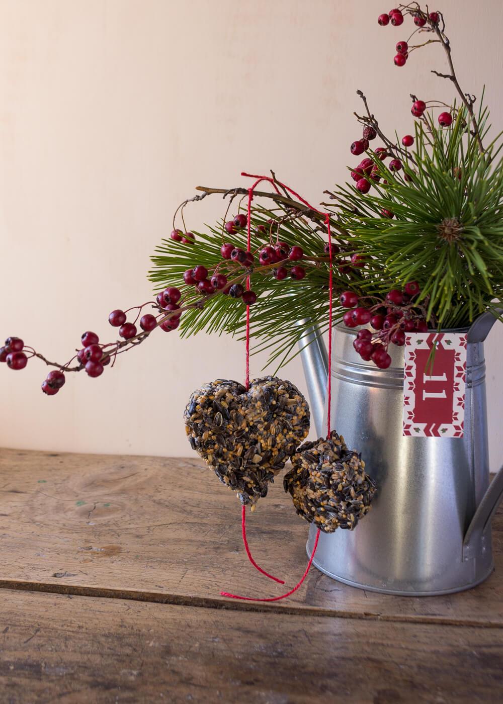 Calendario dell'Avvento - Tortine di semi per uccellini - Un Natale di tradizioni - Lily&SageDesign