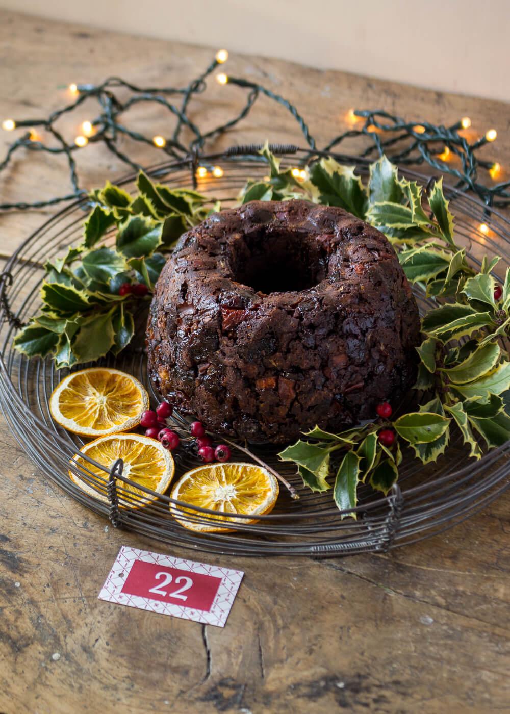 Calendario dell'Avvento - Christmas pudding vegan - Un Natale di tradizioni - Lily&SageDesign