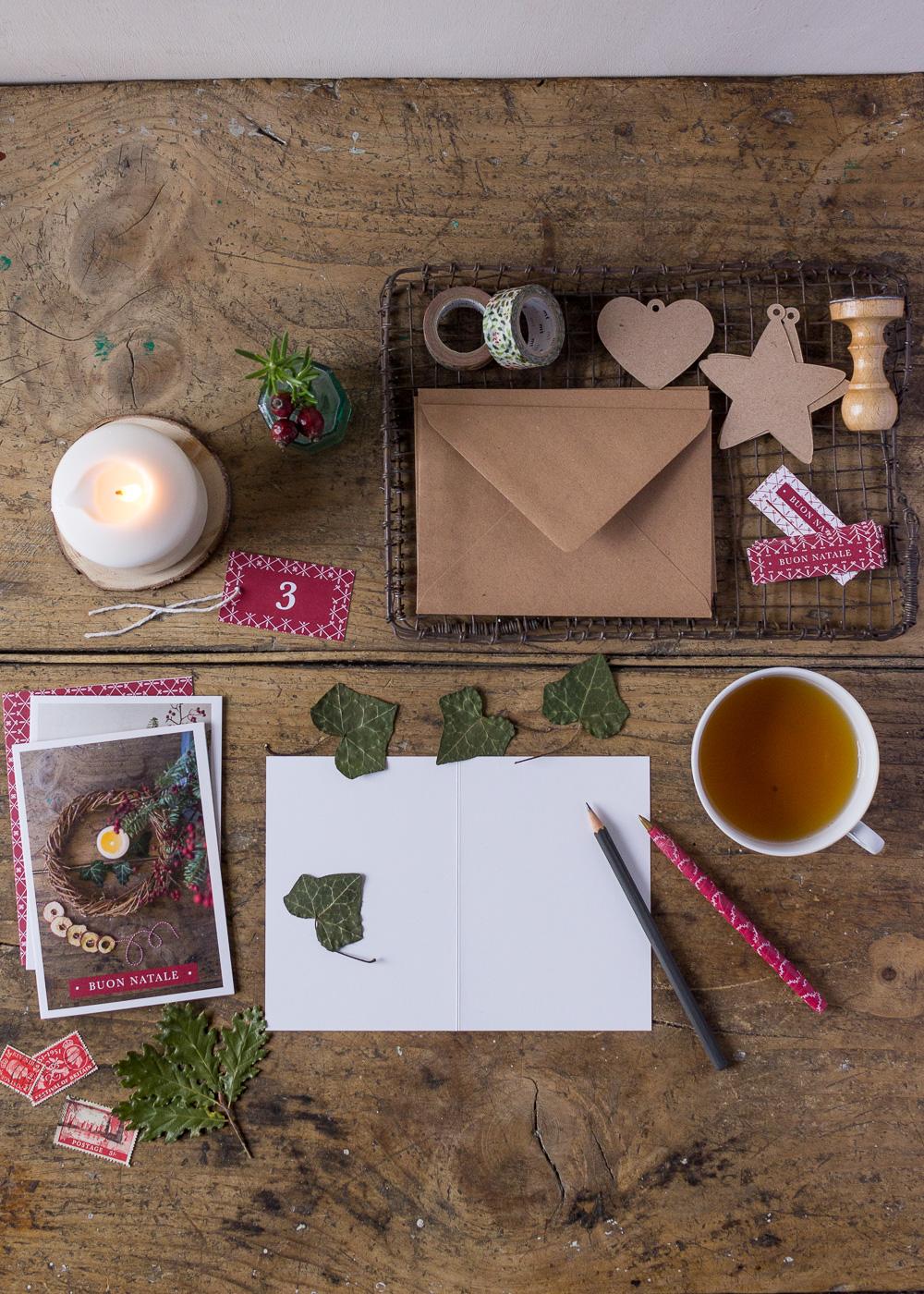 Calendario dell'Avvento - Scrivere i biglietti d'auguri di Natale - Un Natale di tradizioni - Lily&SageDesign