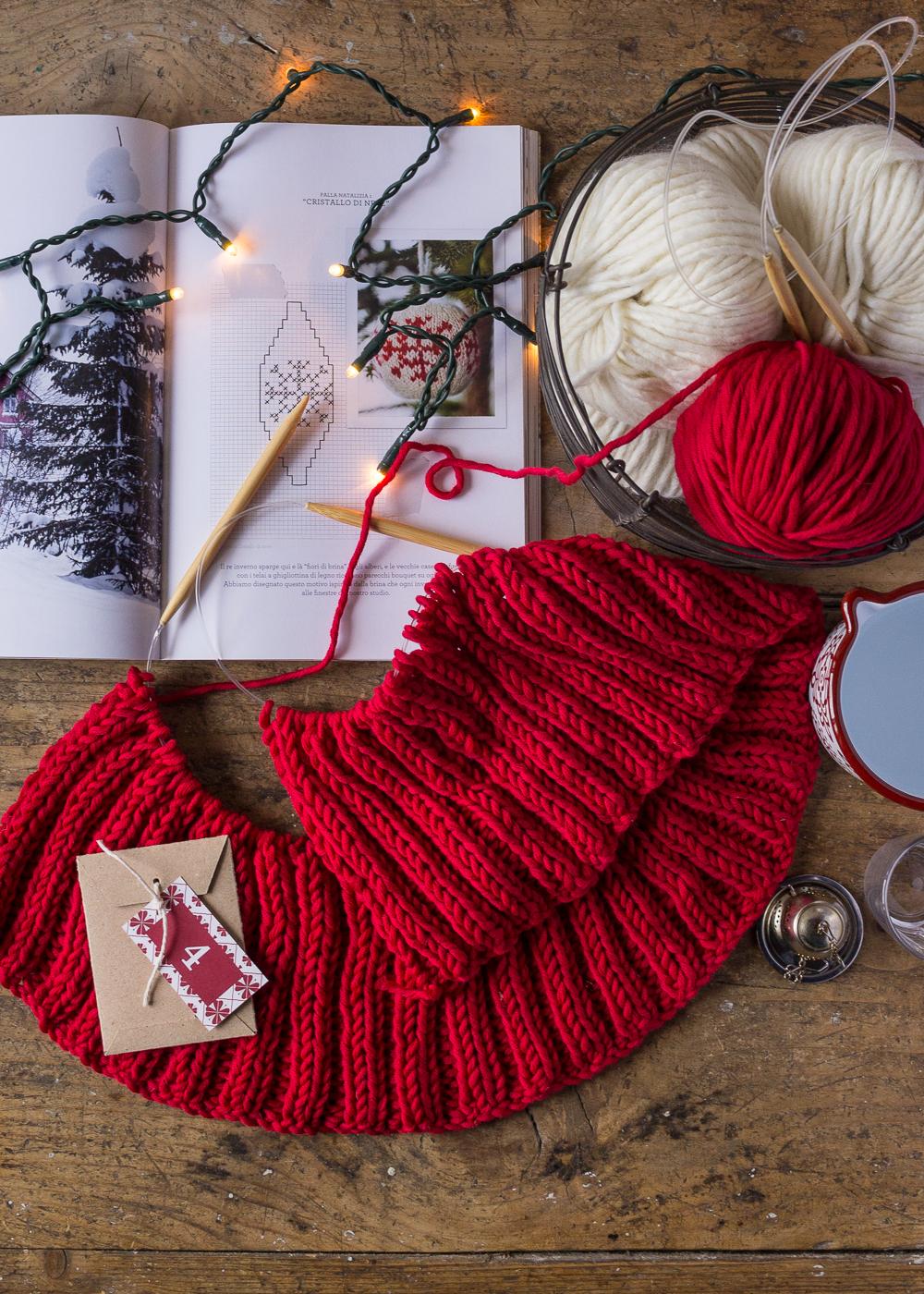 Calendario dell'Avvento - Lavorare a maglia - Un Natale di tradizioni - Lily&SageDesign