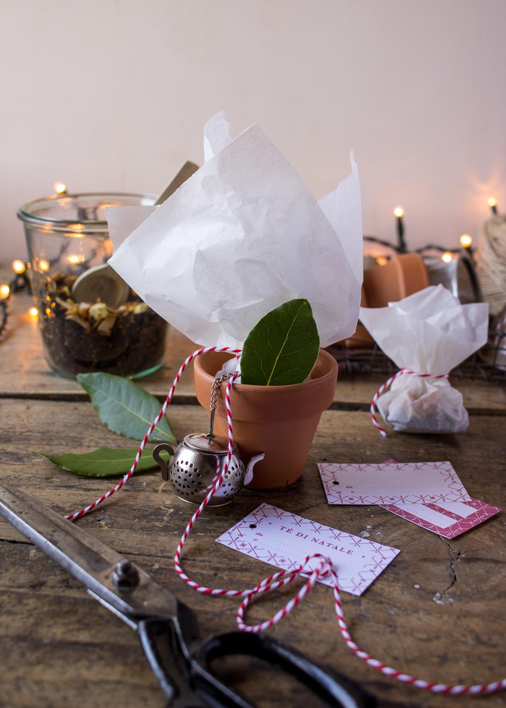 Calendario dell'Avvento - Impacchettare il tè di Natale - Un Natale di tradizioni - Lily&SageDesign