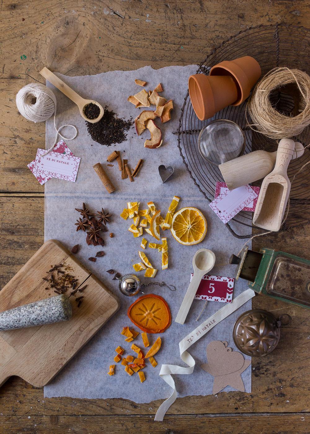 Calendario dell'Avvento - Il tè di Natale - Un Natale di tradizioni - Lily&SageDesign