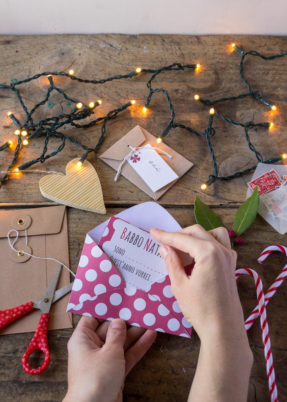Calendario dell'Avvento - Lettera a Babbo Natale - Un Natale di tradizioni - Lily&SageDesign