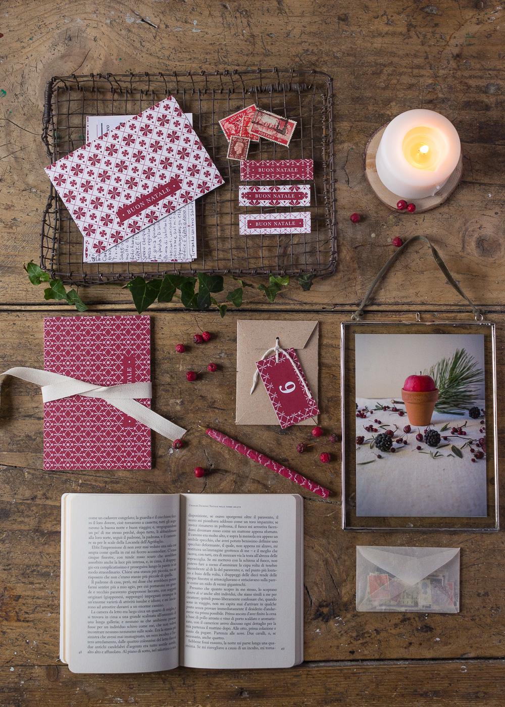 Calendario dell'Avvento - Scrivere cartoline di Natale - Un Natale di tradizioni - Lily&SageDesign